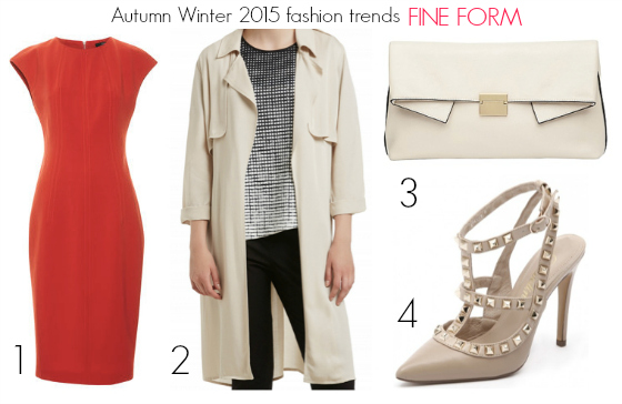 Autumn Winter 2015 fashion trends - fine form