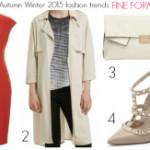 FEATURED Autumn Winter 2015 fashion trends - fine form