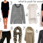 FEATURED What to pack for Europe in spring