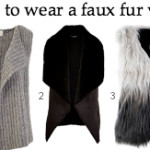 FEATURED how to wear a faux fur vest