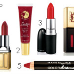 featured 5 red lip colours
