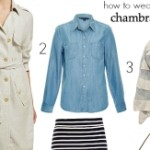 FEATURED How to wear a chambray shirt