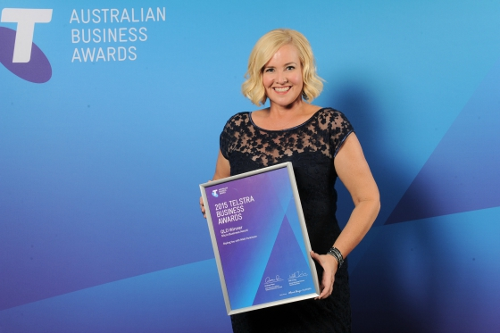 Styling You wins Telstra Business Award (QLD - micro business)