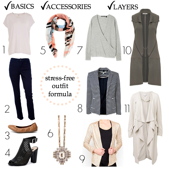 Styling You wardrobe basics stress-free outfit formula