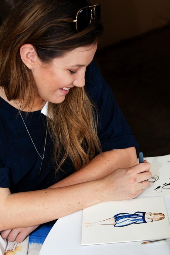 Styling You #everydaystyle lunch   Fashion illustrator Jakomina