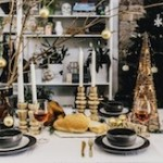 Christmas tablescape Styling You