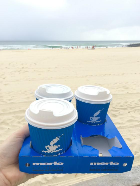 Merlo coffee, Burleigh Heads
