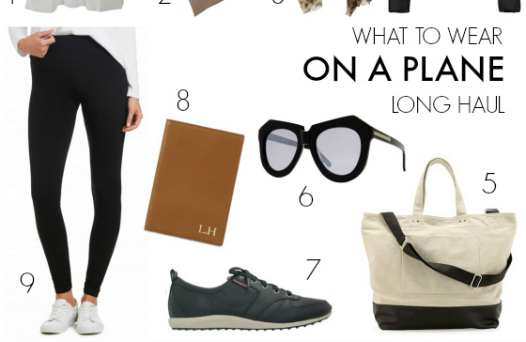 FEATURED  What to wear on a plane - long haul flight