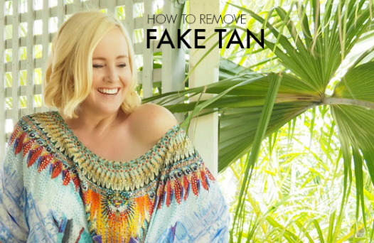 FEATURED How to remove fake tan