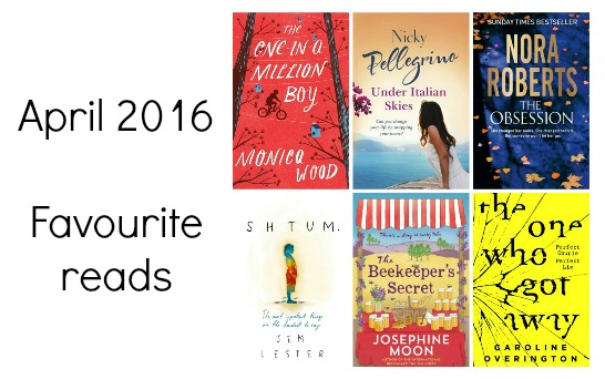 April 2016 favourite reads feature pic