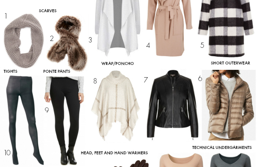 FEATURED 15-piece winter layering capsule wardrobe