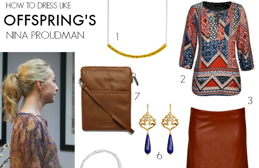 FEATURED How to dress like Offspring's Nina Proudman Series 6 Ep5