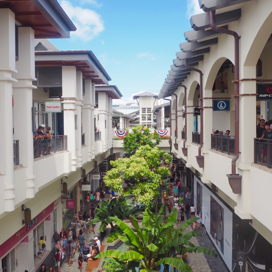 Ala Moana Shopping Centre | 17 tips for travelling to Hawaii if you're a newbie