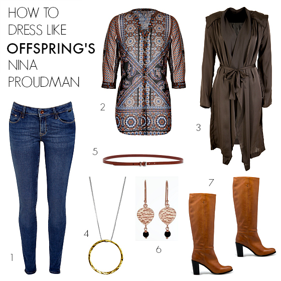How to dress like Offspring's Nina Proudman S6 E7