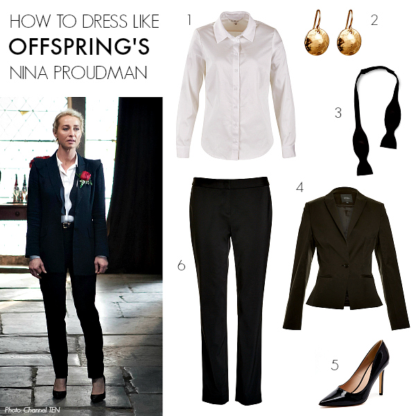 How to dress like Offspring's Nina Proudman | Season 6; Episode 8