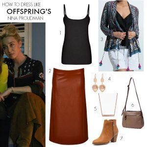 How to dress like Offspring's Nina Proudman | Series 6 Episode 9
