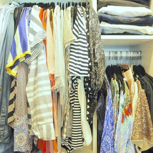 12 tips for organising your wardrobe