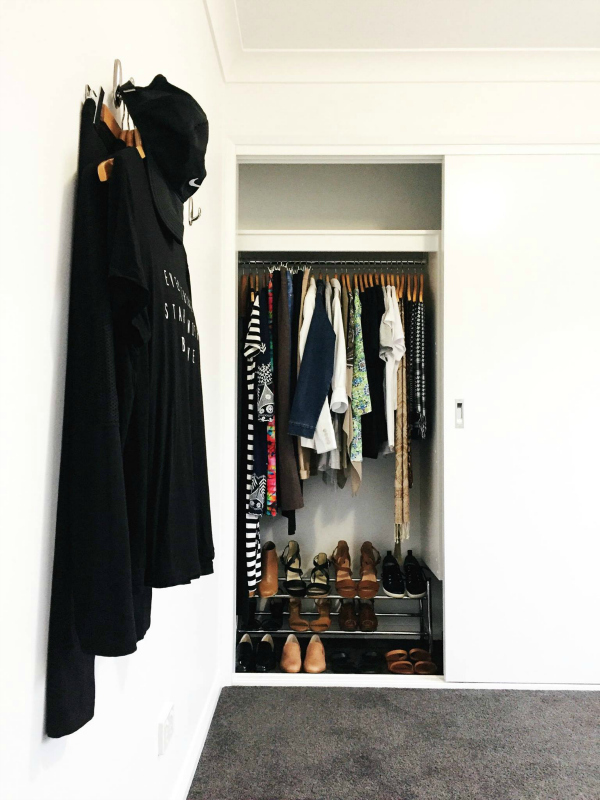 Hang items out ready for wear | 12 tips for organising your wardrobe for stress-free daily dressing