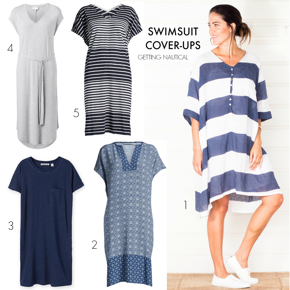 7 tips for choosing a swimsuit cover-up that works for your everyday style | GETTING NAUTICAL