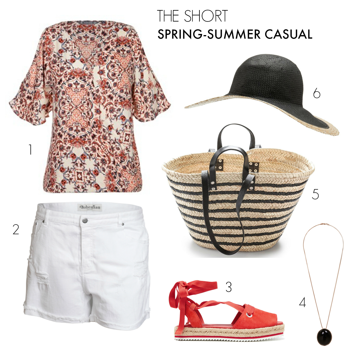 The Short | Casual outfits to take you from spring to summer