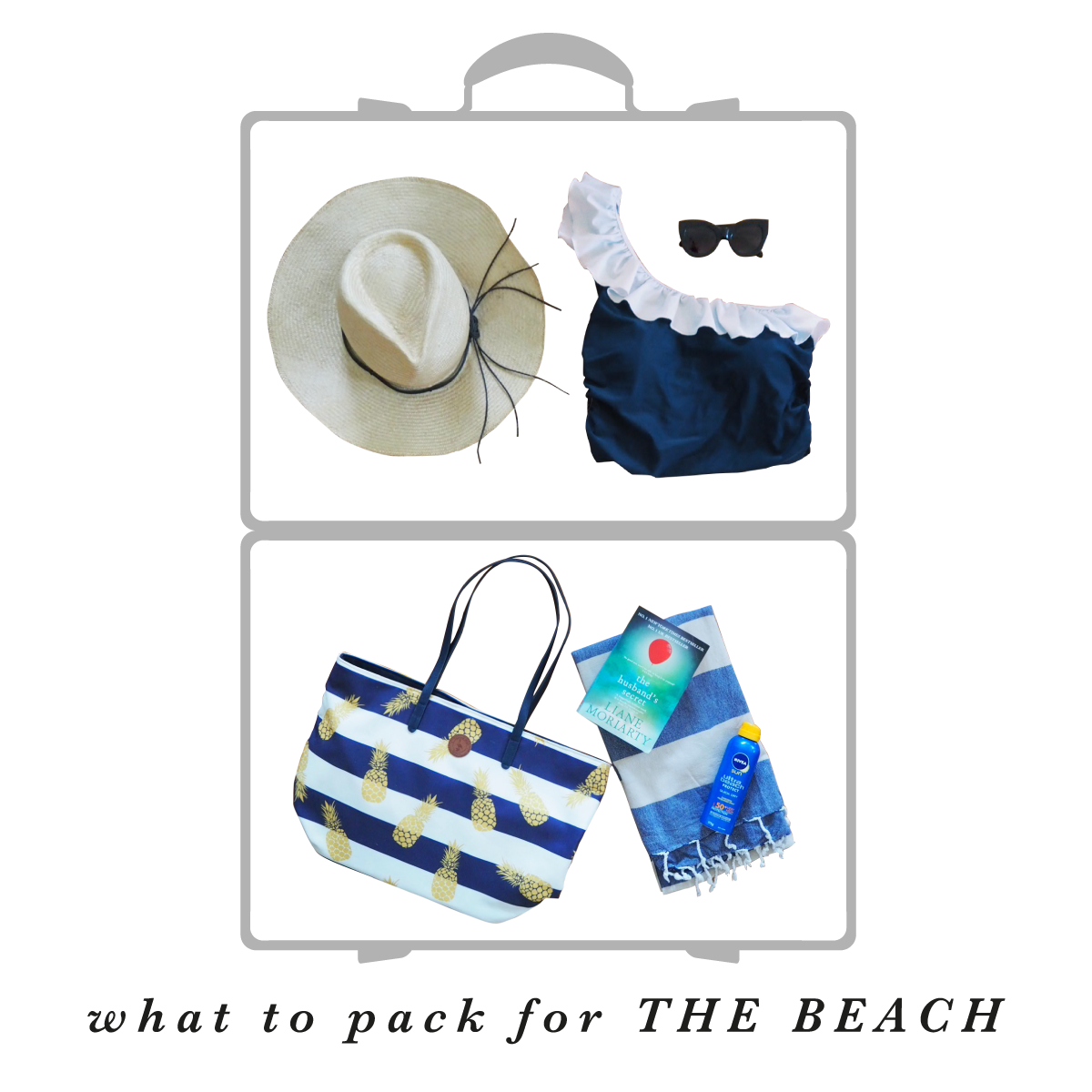 What to pack for an Australian holiday at the beach