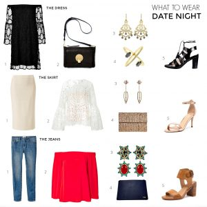 What to wear date night | 3 date night outfits