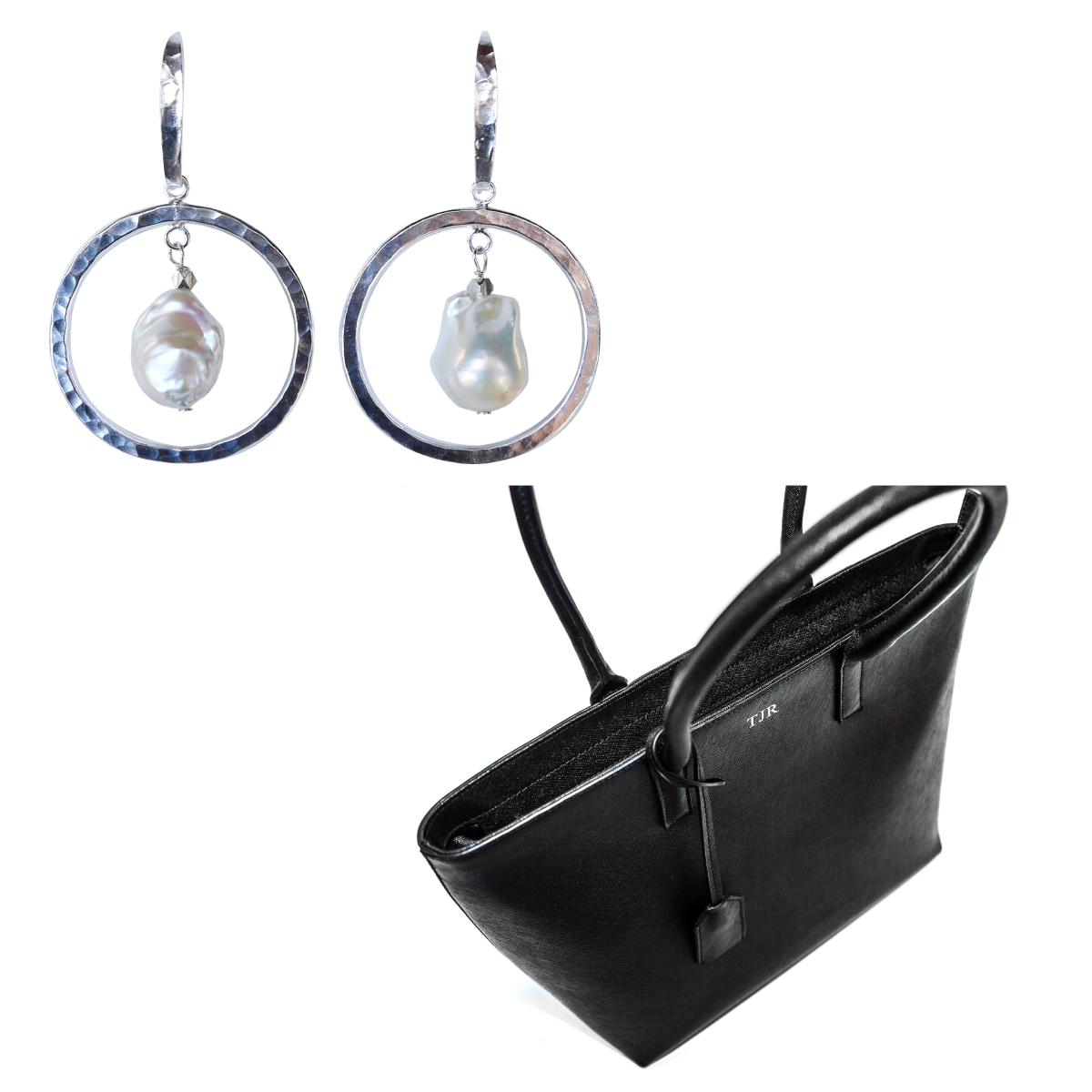 Win Salita Matthews earrings + Miss Monogram tote | Styling You