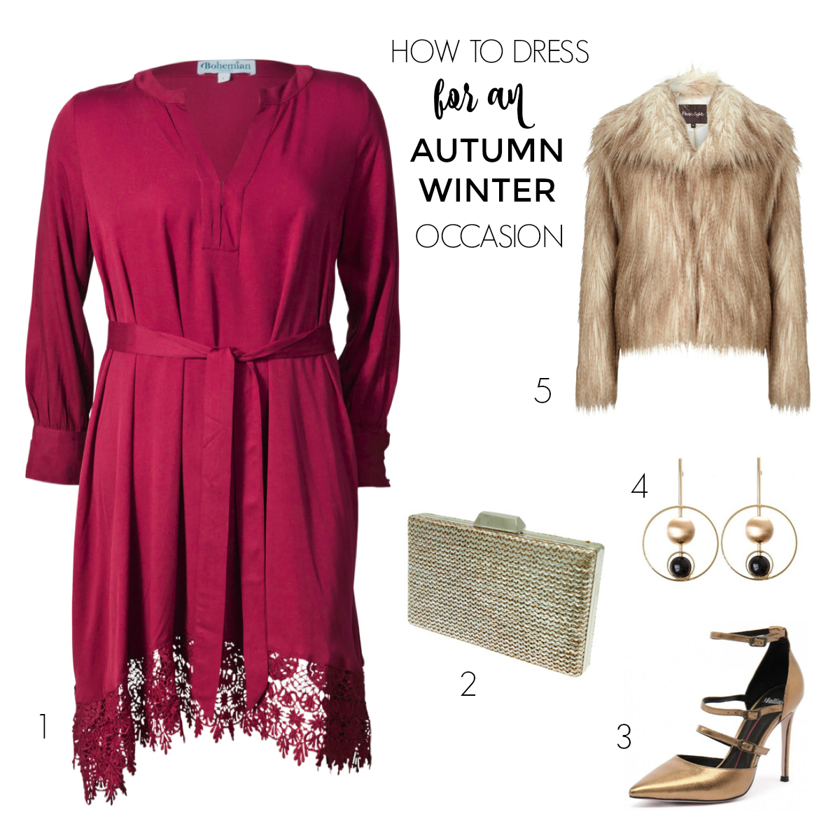 How to dress for an autumn-winter occasion or event | Styling You