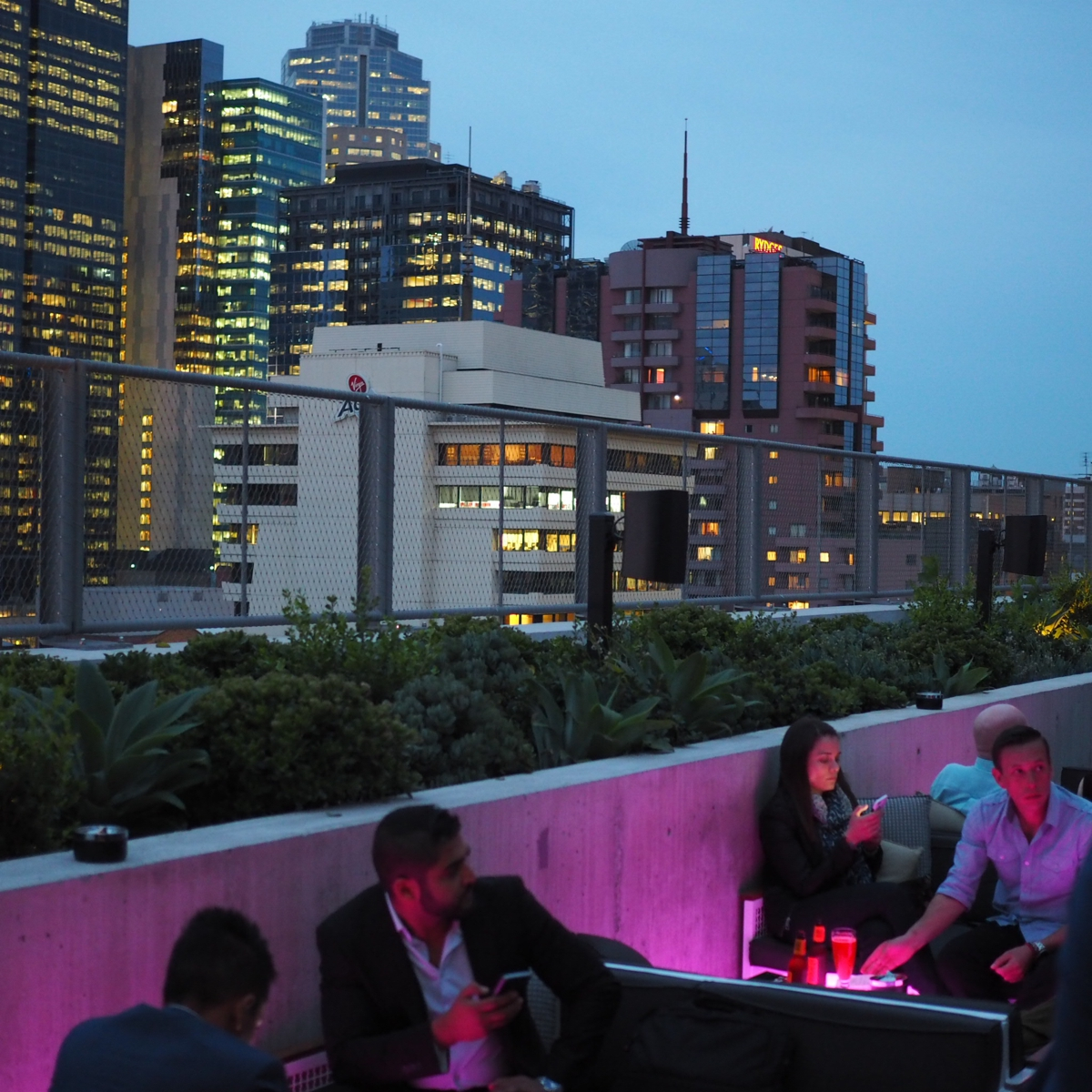 The Rooftop at QT Melbourne