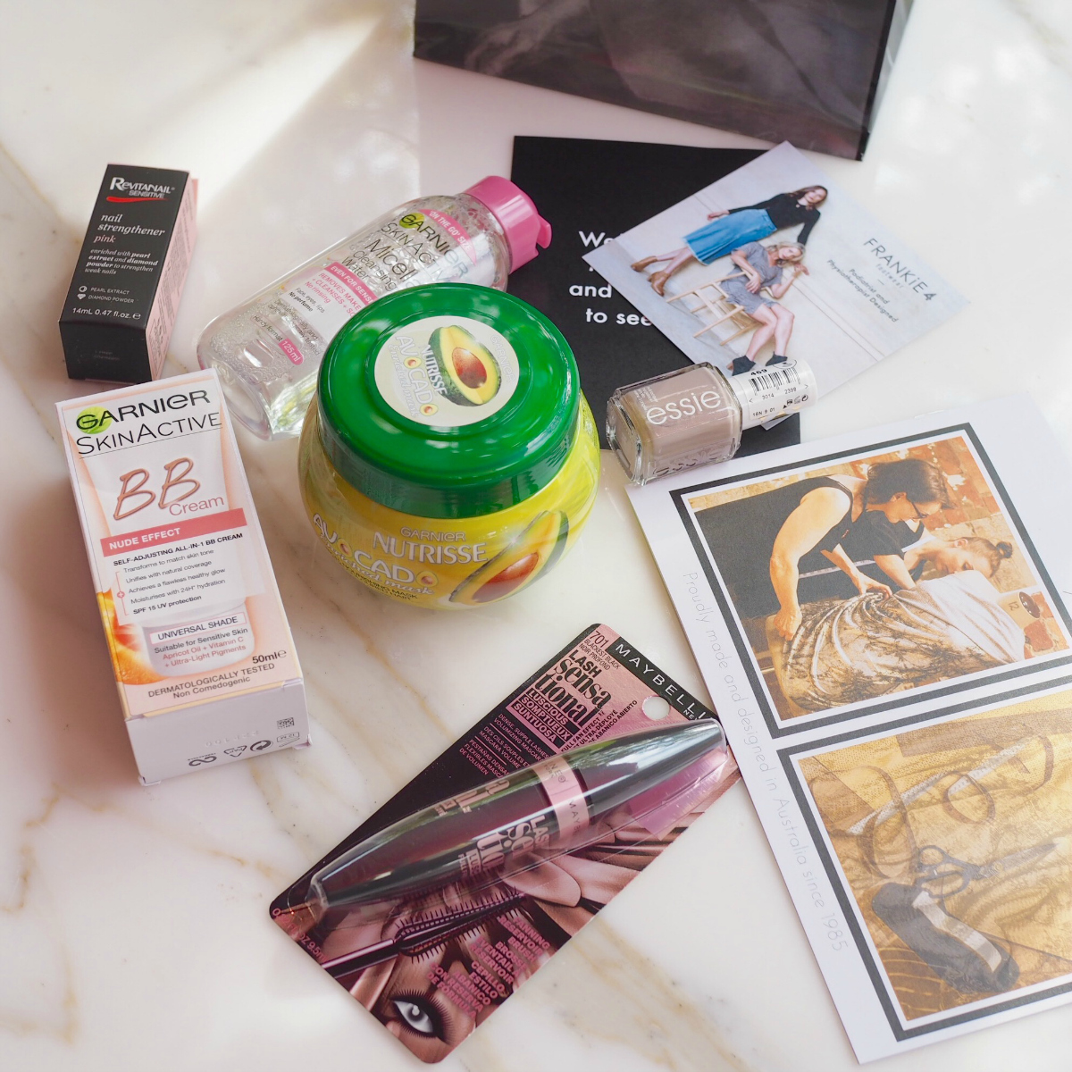 Styling You High Tea April 2017 - gift bags | Thanks to Motto, Revitanail, Garnier, Maybelline NY and Essie
