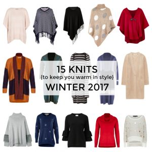 15 knits to keep you warm and stylish winter 2017