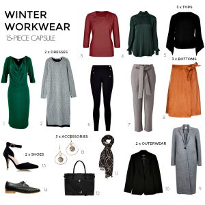 How to create a winter workwear 15-piece capsule
