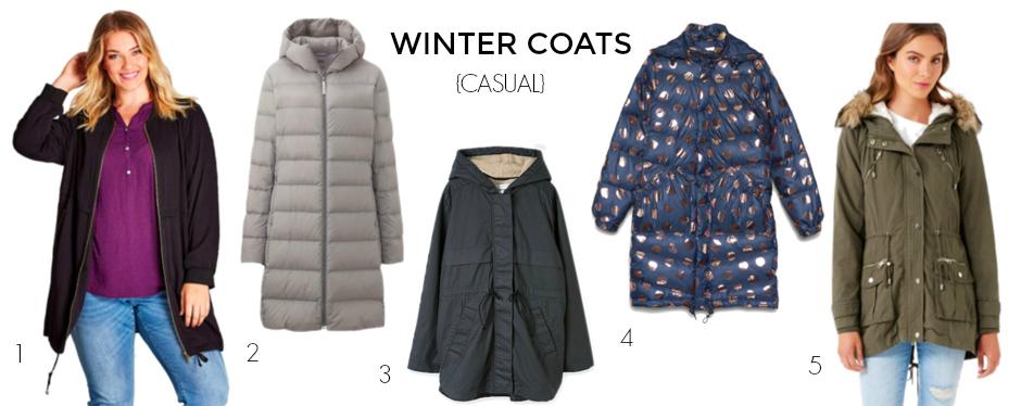 Winter coats 2017 - casual