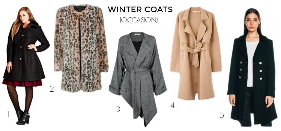 Winter coats 2017 - occasion