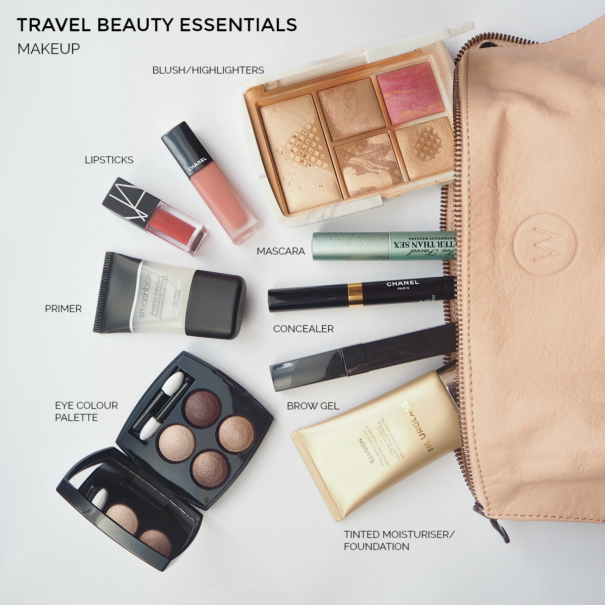 Travel beauty essentials: makeup | Styling You