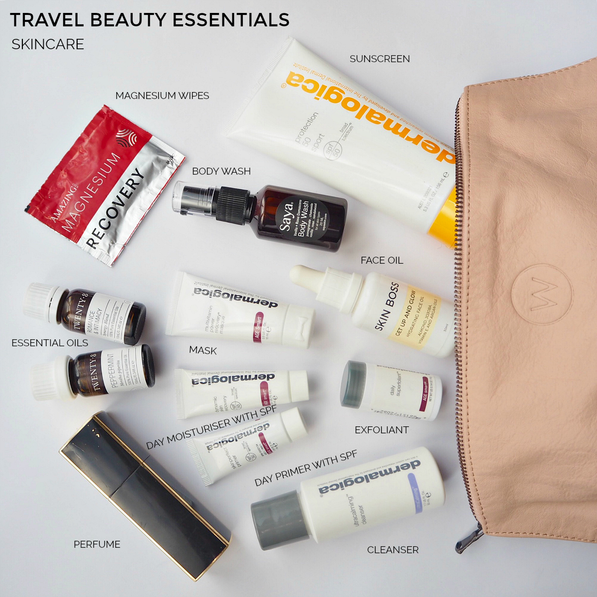 Travel beauty essentials - hair care | Styling You