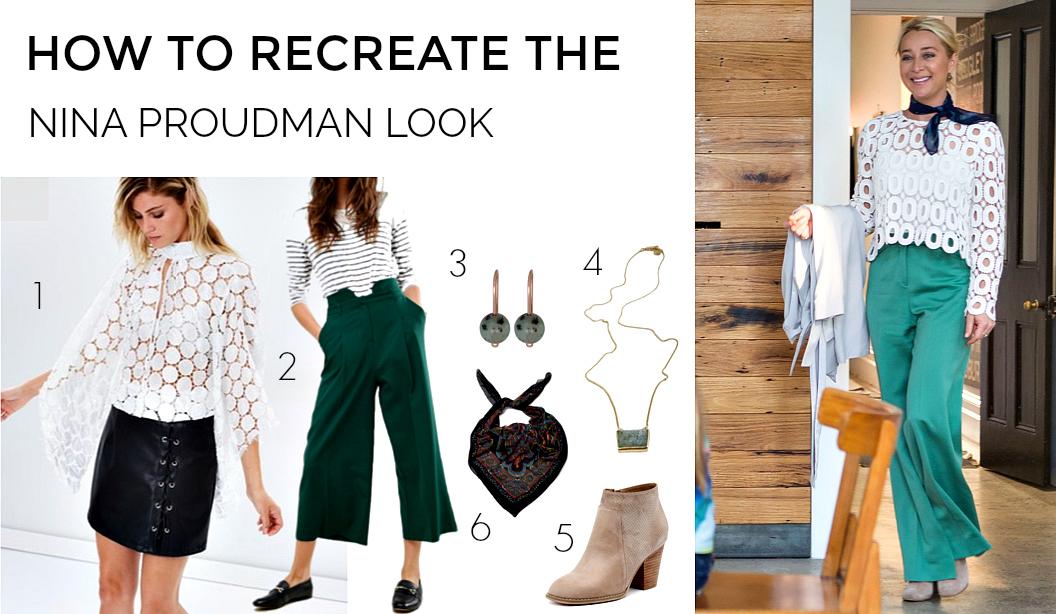 How to recreate the Nina Proudman look | Season 7 Episode 7