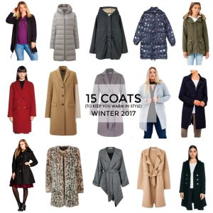 15 coats for winter 2017 that will keep you warm in style