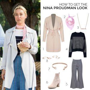 How to recreate the Nina Proudman look (season 7; episode 6)