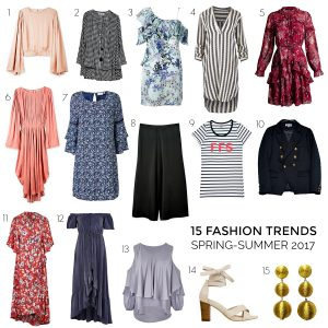 These are the 2017 spring-summer trends you'll want in your wardrobe