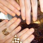 Gorgeous Essie nails - the colour is Haute