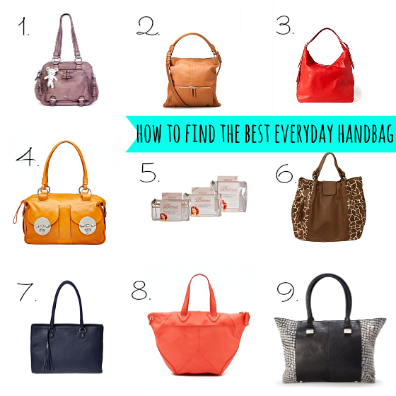 how to find the best everyday handbag