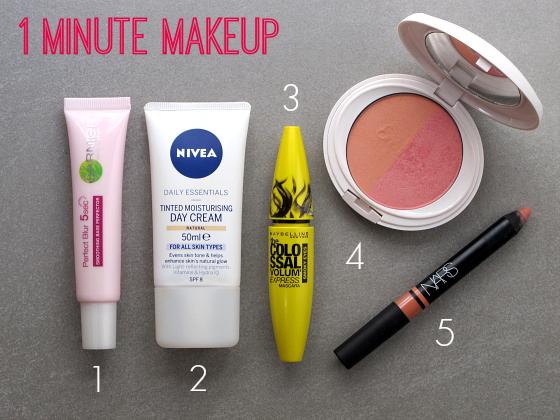 1 minute makeup