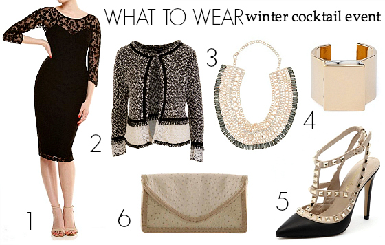 How to dress for a cocktail reception