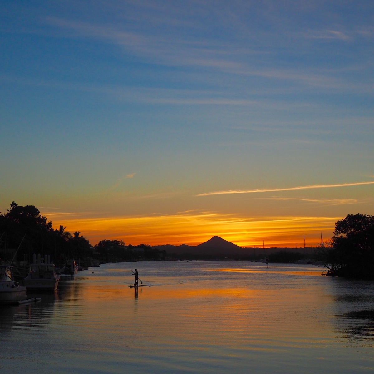 Noosa River sunset   7 things not to miss when visiting Noosa