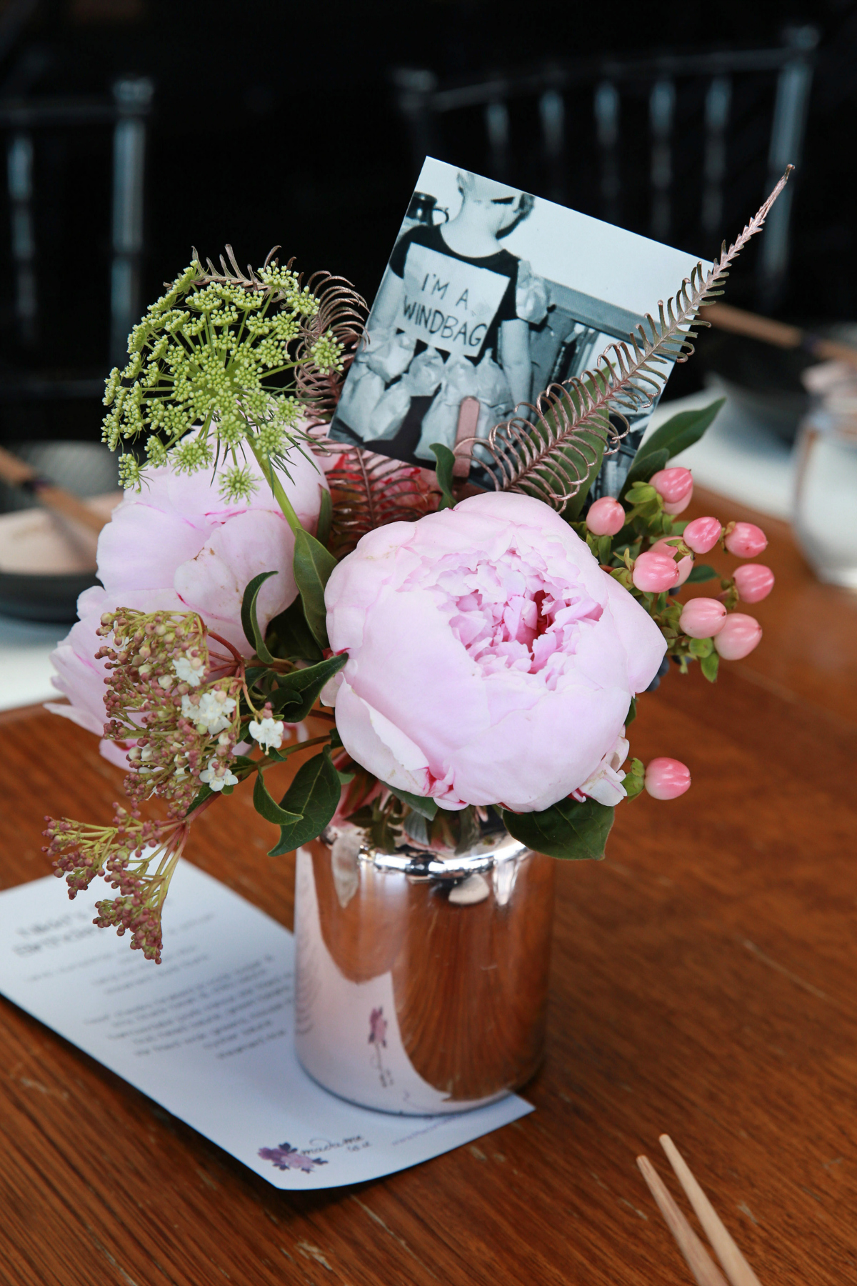 Styling You Nikki Parkinson 50th birthday | Flowers by Francesca's Flowers